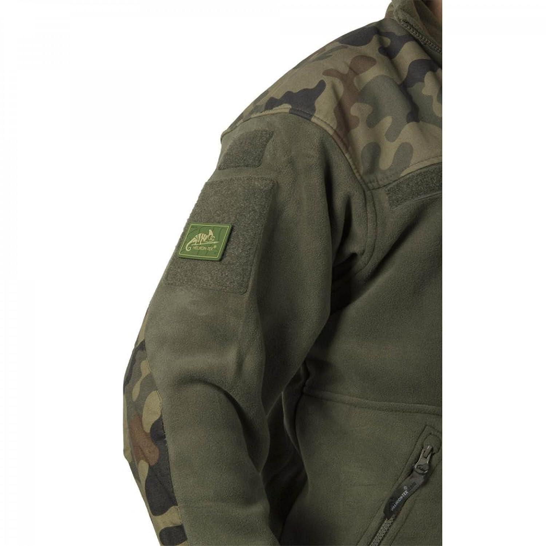 Helikon Mens Infantry Duty Fleece Jacket Black