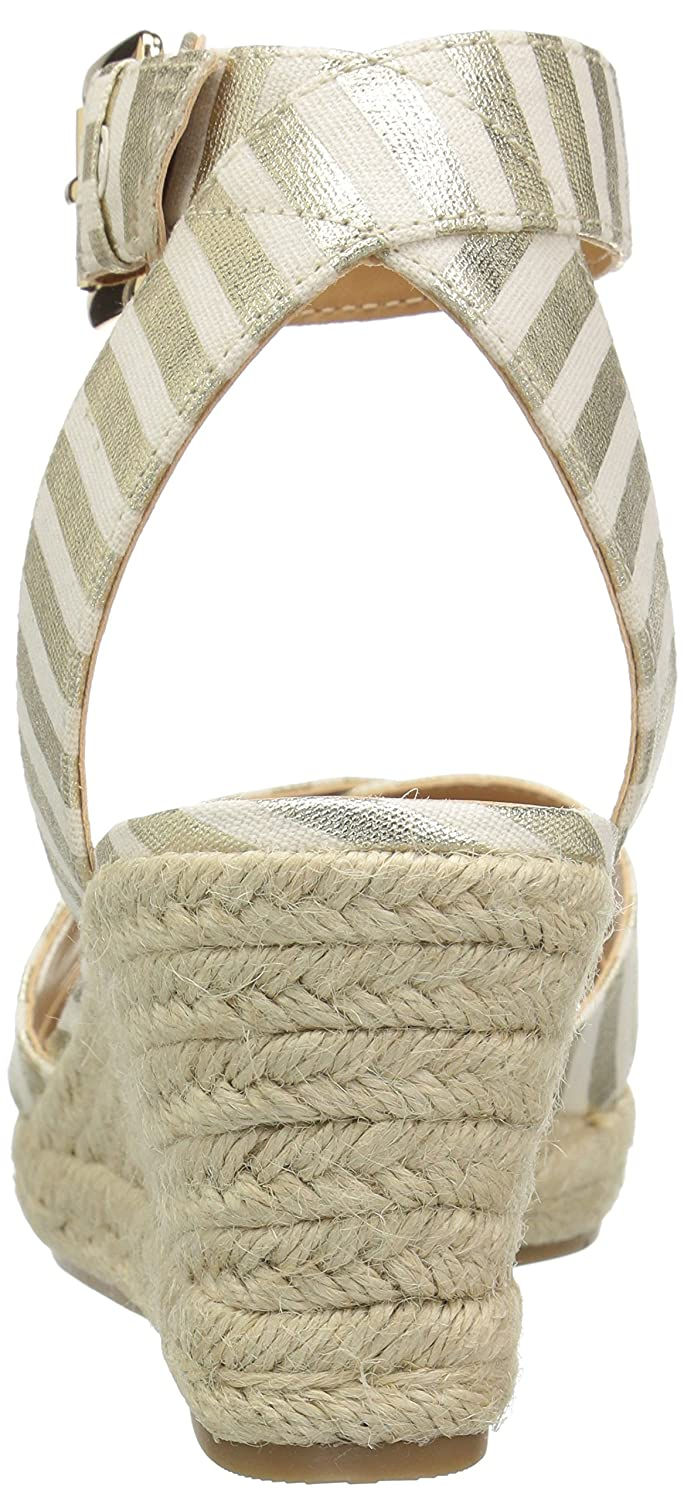 Tommy Hilfiger Women's Gorgis Wedge Sandal B01M277RPL 5 B(M) US|Gold