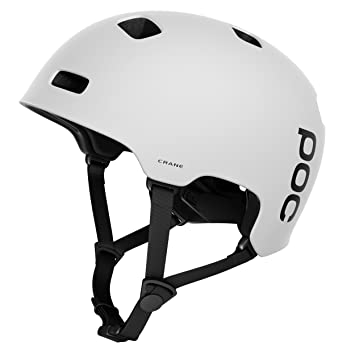 POC Crane Casco, Unisex Adulto, Matt White, XL-2XL/59-