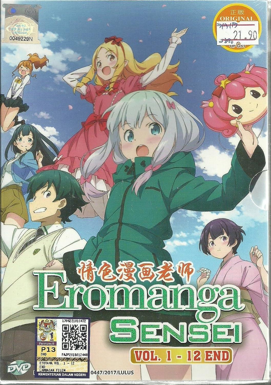 Amazon com eromanga sensei complete anime tv series dvd box set 12 episodes ryohei takeshita movies tv