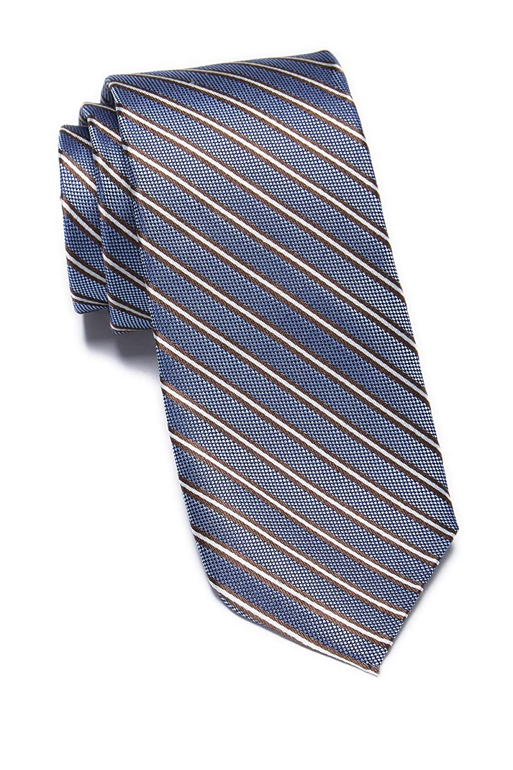 Ben Sherman Lumber Stripe Silk Tie - Blue: Amazon.es: Ropa y ...