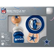 NFL Dallas Cowboys Baby Rattle Set - 2 Pack