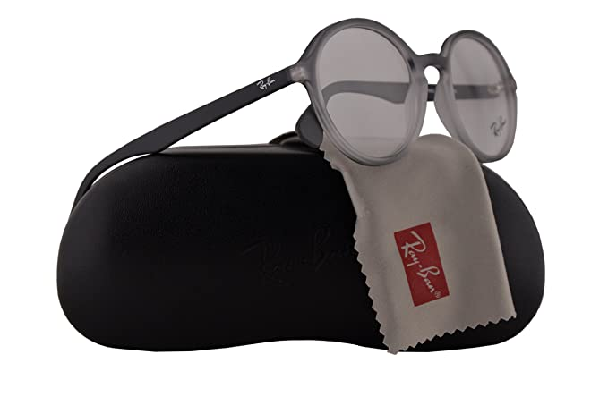 a0cb4d716f Ray Ban RX7075 Eyeglasses 49-20-145 Gray Gradient Rubber White 5602 RB7075