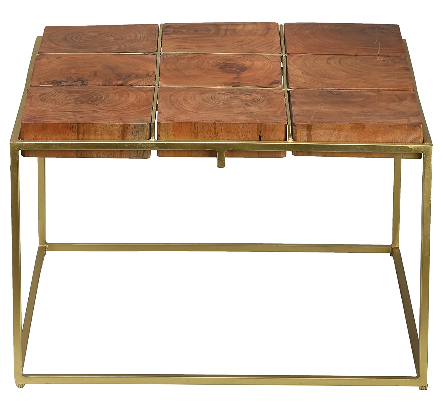 Awesome Amazon Com Bare Decor Cheyenne Metal And Wood Coffee Table Lamtechconsult Wood Chair Design Ideas Lamtechconsultcom
