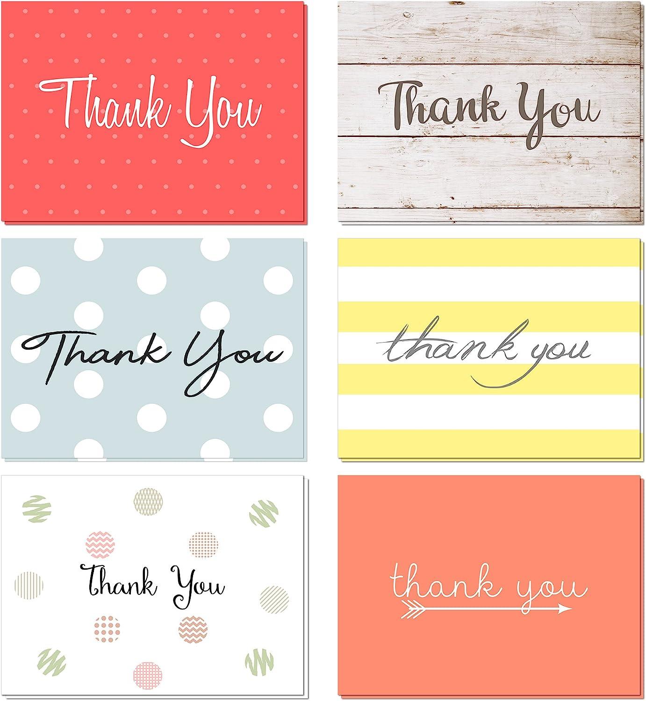 Notecard Set of 8 Thank You Agate Slice Boho Blue Green Pink Blank Notecard Agate Thank You Card
