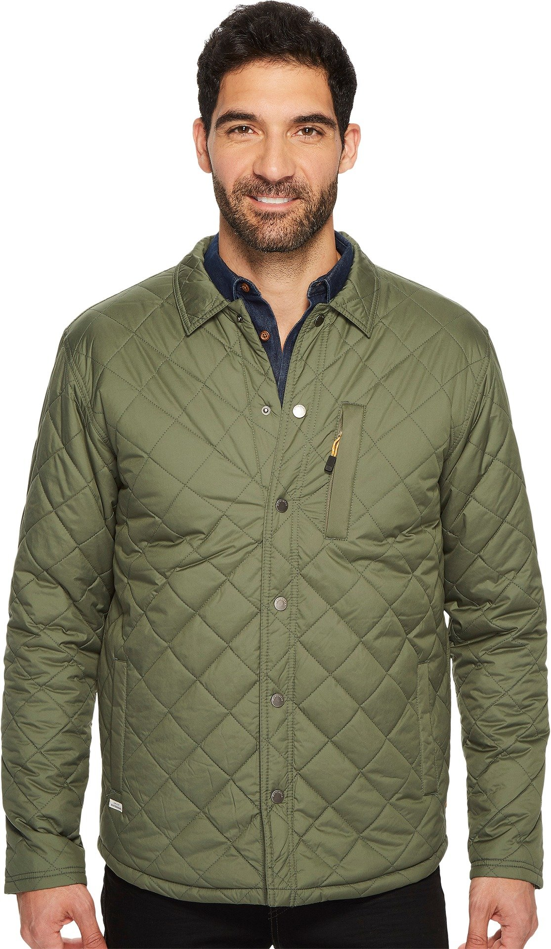 Quiksilver Waterman Men's Puffed up Quilted Jacket, Beetle, XL