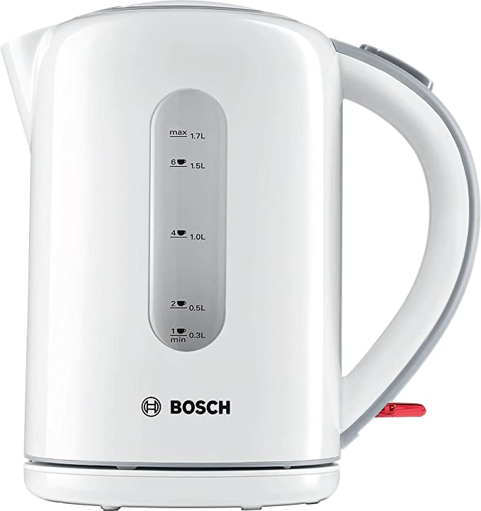 Bosch TWK7601GB Village Collection Kettle, 1.7 L - White [Energy Class A]