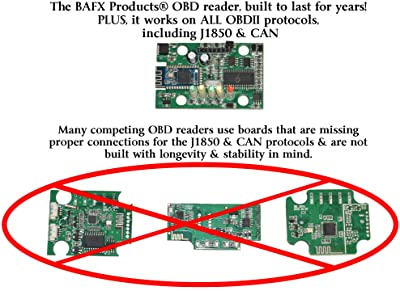 BAFX Bluetooth OBDII scan tool is a simple, basic code reader with no frills.