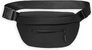 Gaiam Fanny Pack Running Belt Bag - Commuter Waist Pack Cell Phone Holder Exercise Gym Slim Zipper Workout Pouch Jogging Bag, Multi Pocket, Adjustable, Walking, Runner Accessories Women, Men