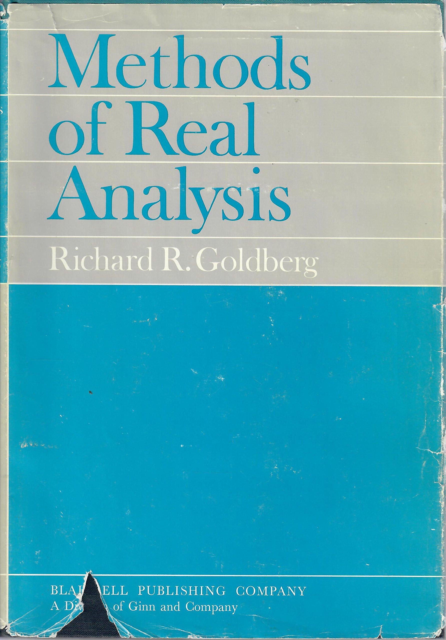 free download real analysis book richard goldberg