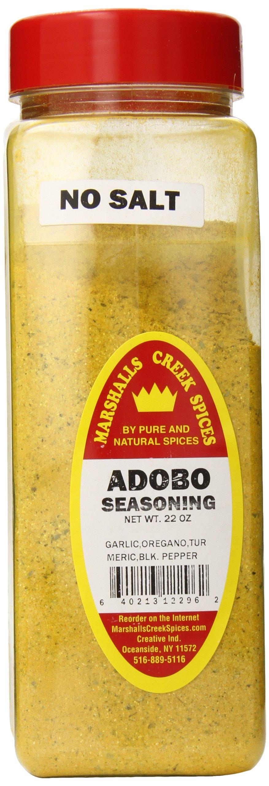 Marshalls Creek Spices Seasoning, Adobo, XL Size, 22 Ounce