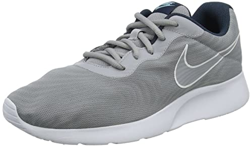Nike Tanjun Prem, Zapatillas para Hombre, Gris (Wolf Grey/Armory Navy/Still Blue/Wolf Grey), 45 EU