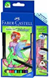 Faber-Castell 114482 - Zeichenset Art Grip Aquarelle Anime Art Fairies