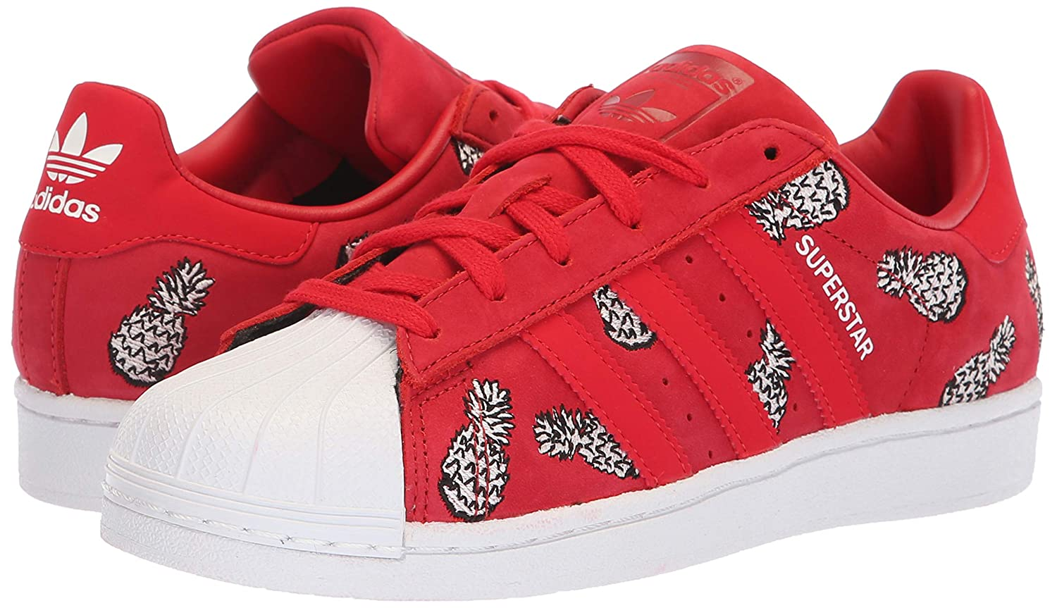 Adidas-Superstar-Women-039-s-Fashion-Casual-Sneakers-Athletic-Shoes-Originals thumbnail 8