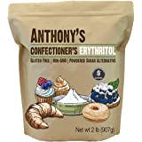 Anthony's Confectioner's Erythritol, 2 lb, Non GMO, Natural Sweetener, Zero Calorie, Keto & Paleo Friendly