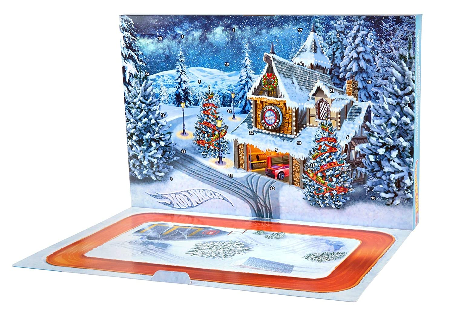 Hot Wheels Advent Calendar 2018 Mattel FKF95