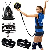 Volleyball Training Equipment Aid - Practice Your Serving, Setting & Spiking with Ease, Great Solo Serve & Spike Trainer for