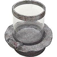 Better & Best 1693053 - Portavelas de Cristal