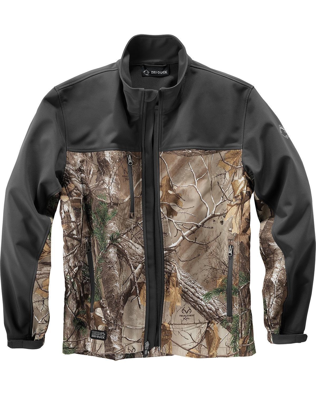 DRI Duck Men's Motion Realtree Xtram Camo Softshell Jacket Tall Sizes Camouflage XX-Large Tall