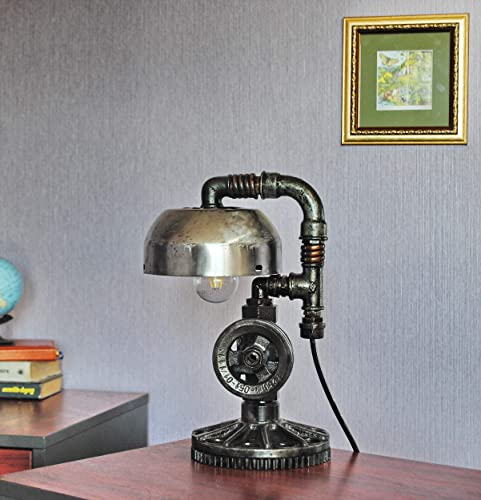 Industrial Table Lamp Steampunk Parts Lamp Cast Iron Pipe Lamp Cheap Rustic  Lamps Edison Bulb Lamps