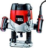Black & Decker - Fresatrice verticale elettrica 1200W, fresa, pantografo KW900E