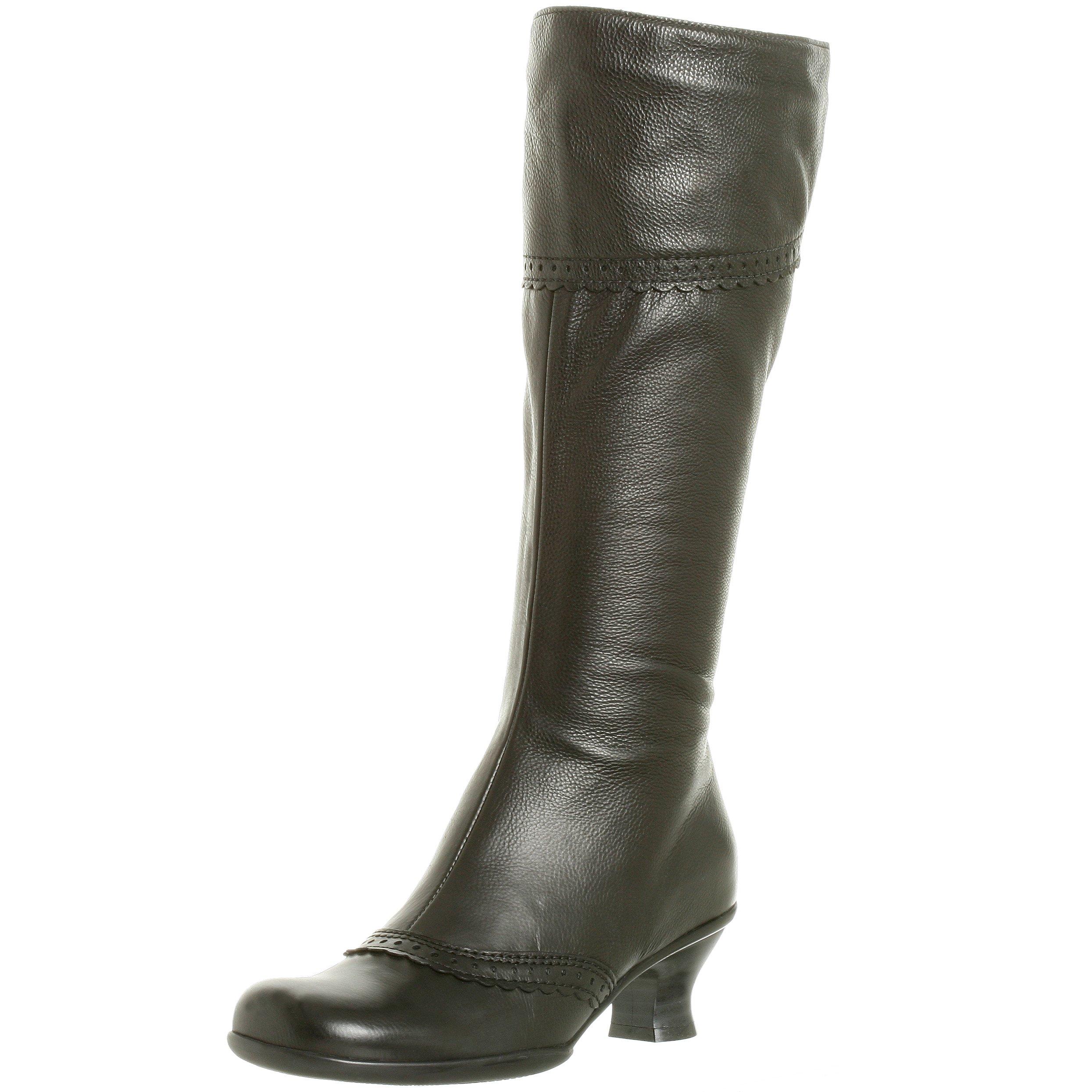 La Canadienne Women's Tahra Leather Boot,Black,6 M