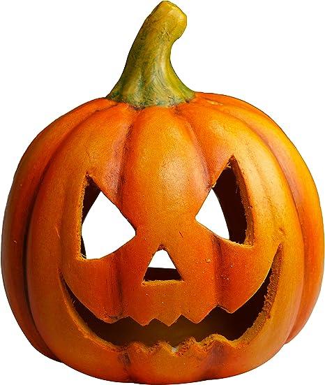 Khevga Halloween Deko Kurbis Herbstdeko Windlicht Deko Kurbis Amazon De Kuche Haushalt