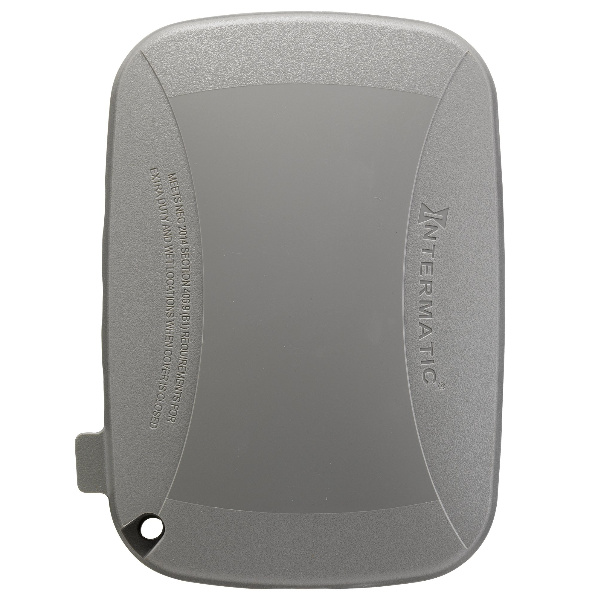 Intermatic WP5110G Extra Duty Plastic Weatherproof Cover 3.625-Inch Single Gang, Grey by Intermatic