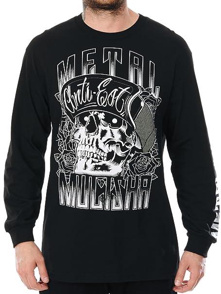Metal Mulisha Langarm T-Shirt Woodcut Schwarz (X-Large , Schwarz):  Amazon.de: Bekleidung