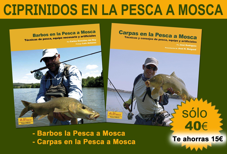 Pack Ciprinidos en la Pesca a Mosca: Amazon.es: Carlos González del Rey y José Rodrigues: Libros