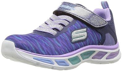 Skechers Mädchen S Lights: Litebeams Sneakers, Mehrfarbig, 25 EU Kinder