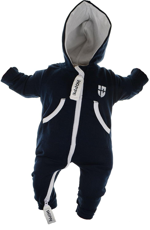 Gennadi Hoppe Baby Jumpsuit Onesie Jogger Einteiler Overall Mädchen Jungen Anzug