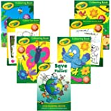 Crayola® Bumper Pack of 7 x Children's Fun Colouring, Activity, Puzzle & Dot to Dot Books - Fun & Educational Activity Books