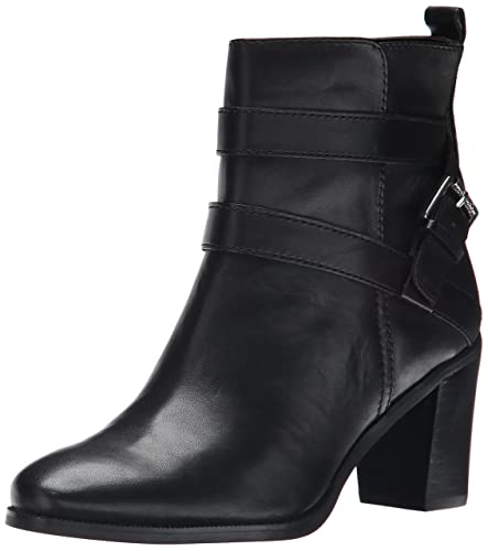 Best Quality LAUREN Ralph Lauren Cassy Womens Black Burnished Vaccheta boots n3Dkl Au T