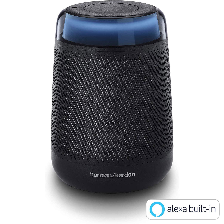 Harman Kardon ALLURE Portable アルーア ポータブル スマートスピーカー Amazon Alexa/Bluetooth対応 ブラック HKALLUREPORBLKJN 【国内正規品/メーカー1年保証付き】 B07GN88W34