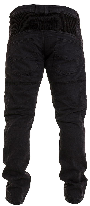 1a69a8524e Qaswa Hombre Motocicleta Pantalones Moto Jeans Con Protección Aramida  Motorcycle Biker Pants  Amazon.es  Ropa y accesorios