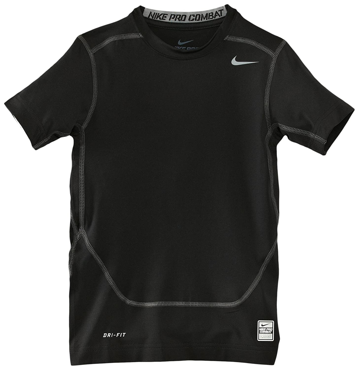 64139378bdc0d 30%OFF Men's Nike Pro Combat Core Fitted 2.0 Short Sleeve Crew Black ...