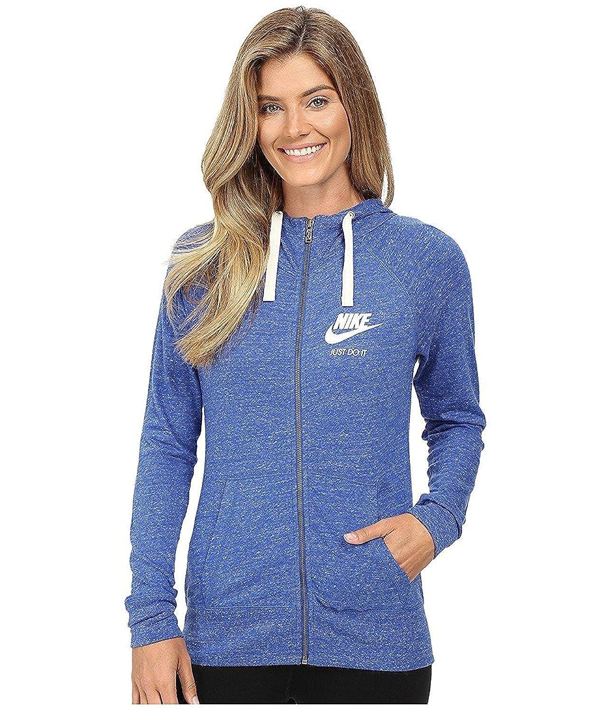 46d9ca670962 Nike Women s Gym Vintage Full Zip Hoodie at Amazon Women s Clothing store