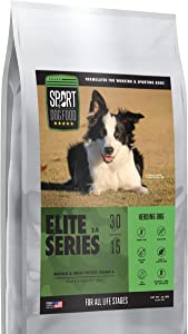 Elite Series Herding Dog Buffalo Formula, Grain, Peas and Poultry Free Dry Dog Food, 30 lb. bag