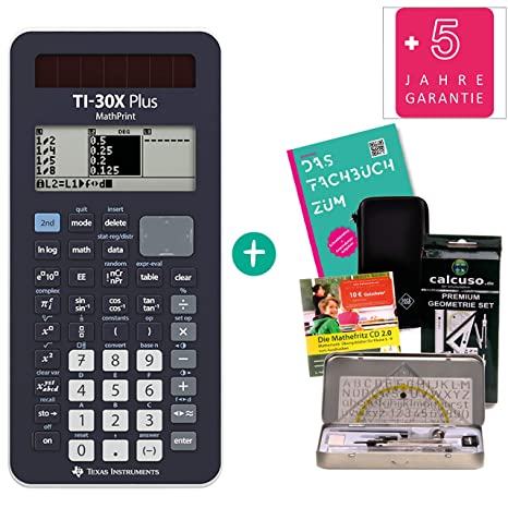TI 30 X Plus Mathprint Streberpaket FB