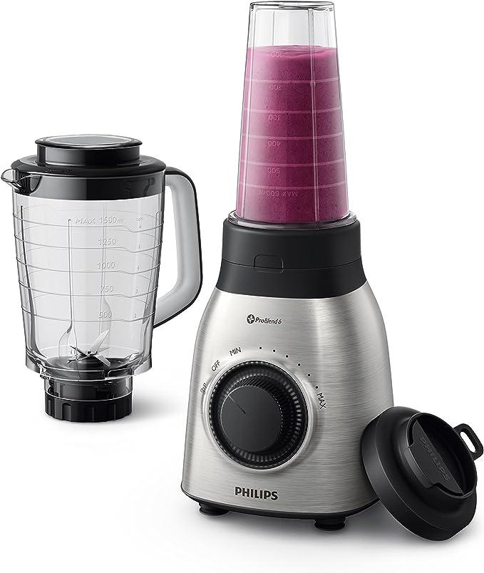 Philips Viva Collection HR3553/00 700W Negro, Metálico-Licuadora ...