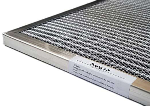 washable hvac filter by trophy air