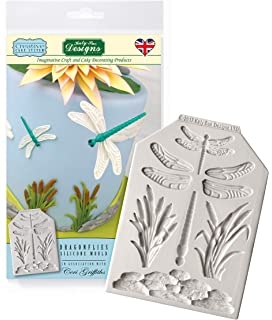 Katy Sue Fondant Cake Icing Craft Embellishment Mould Driftwood