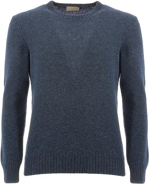 Gran Sasso maglioncino uomogirocollo lana vergine