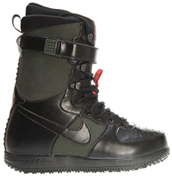 Nike Zoom Force 1 botas de Snowboard oscuro ejército negro Sz 11