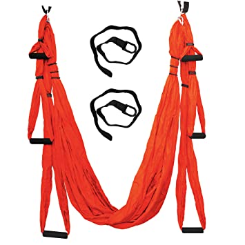parachute fabric aerial yoga swing   ultra strong antigravity yoga hammock trapeze sling for amazon     parachute fabric aerial yoga swing   ultra strong      rh   amazon