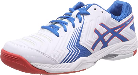 Asics Gel-Game 6 Blanco y Azul