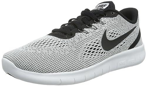 Nike Zapatillas de Deporte para Niños, Blanco (White/Black), 38 1/2 EU: Amazon.es: Zapatos y complementos
