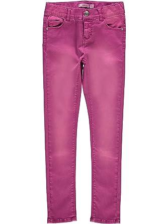 fae8ea81ff028e NAME IT NAME IT Mädchen Baumwollhose Skinny Twill Pants NKFPOLLY 13150584  Hosen  Amazon.de  Bekleidung