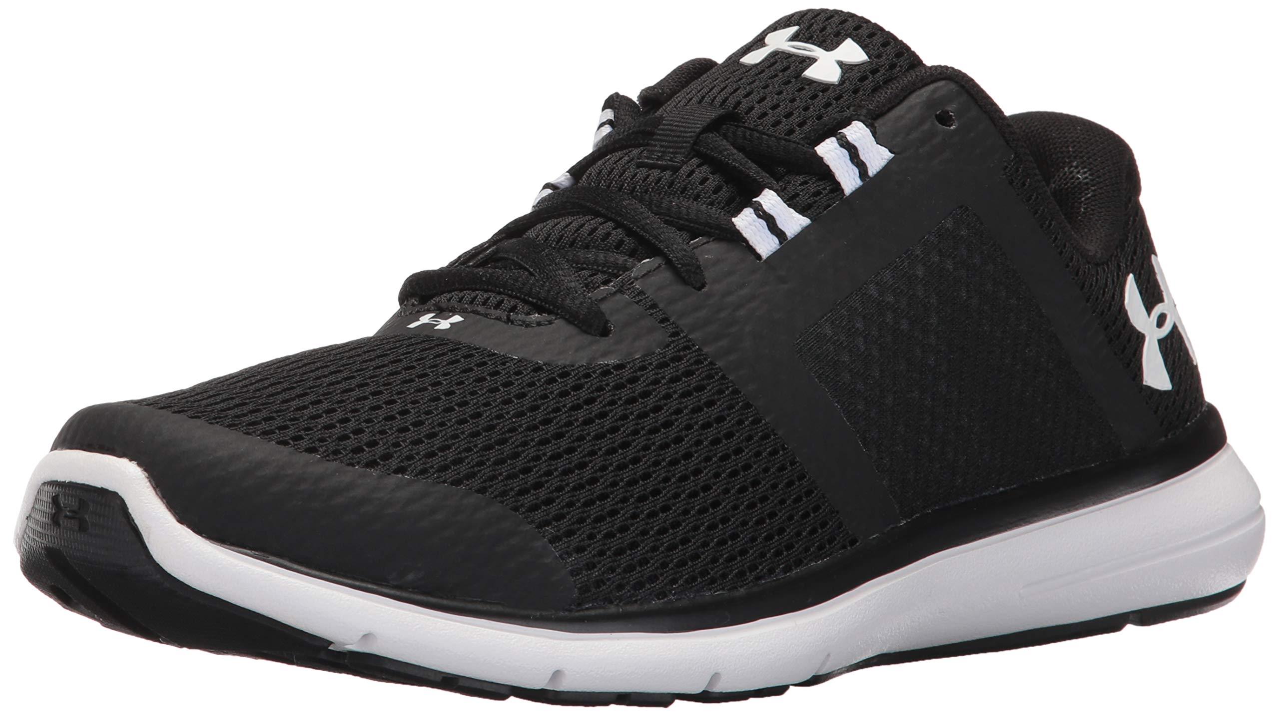 Under Armour Women's Fuse FST Running Shoe, Black